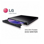Regrabadora Lectora Lg Dvd Cd Usb Externa Portatil