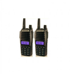 Set De 2 Walkie Talkie Baofeng UV-82-Negro