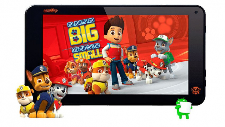 """Tablet PC Level Up 7"""" Paw Patrol HD"""