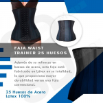 Faja Waist Trainer 25 Huesos Latex Real Exclusiva