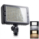 Foco Led 160 Luces Flash Cámara Videograbadora + 2 Filtros
