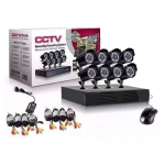 Kit CCTV Seguridad DVR + 8 Cámaras