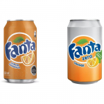Pack de 48 Latas 350ml Fanta Normal o Sin Azúcar