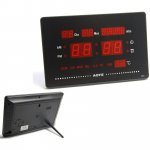 Reloj Digital Pared Led Fecha Temperatura
