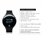 SANDA Bluetooth SmartWatch unisex para IOS y Android