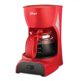 Cafetera OSTER 4 Tazas DR5R Rojo