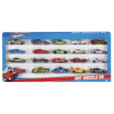 Pack 20 autos Hot Wheels