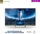 TV Sony X800E 4K HDR – 4K X-Reality PRO – Android TV