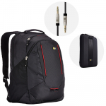 Combo Case Logic: Morral + Funda + Cable