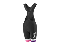 PTA LIV RACE DAY BIB BLACK/PURPLE LG