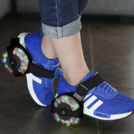 Patines Luminosos ajustables a  Zapatos Flashing Roller