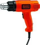 Pistola De Calor 1500w 2 Temp Black + Decker