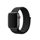 Sportbands Sport Band Loop para Apple Watch (Modelo: 38mm/40mm, Color: Negro/Gris)