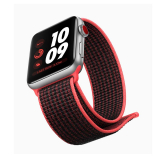 Sportbands Sport Band Loop para Apple Watch (Modelo: 38mm/40mm, Color: Rojo/Negro)