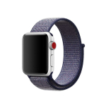 Sportbands Sport Band Loop para Apple Watch (Modelo: 42mm/44mm, Color: Azul Noche)