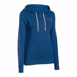 SUETER UNDER ARMOUR FAVORITE FLEECE FZ 15-420 AZUL