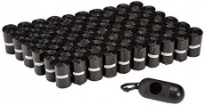 AmazonBasics Dog Waste Bags with Dispenser and Leash Clip – 900-Count