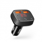 Anker Roav SmartCharge F0 Car with FM Transmitter Bluetooth Receiver