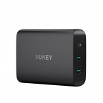 Aukey PA-Y12 USB C Charger 60W Power Delivery 3.0 & Dual Port USB