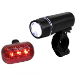 Set de luces para Bicicleta BV, Super Bright 5 LED Frente, 3 LED Posterior