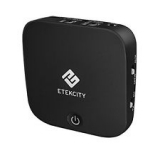 Etekcity 2-in-1 Bluetooth Receiver Transmitter Digital Optical
