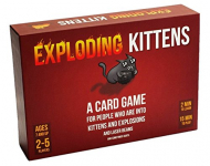 Exploding Kittens Card Game – Gatitos explosivos