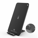 Fast Wireless Charger, ZeroLemon 2-Coil Qi Fast Charge Wireless Charger Stand for Galaxy Note 8, Galaxy S8 Plus/S8/S7 Edge, iPhone X, iPhone 8/8 Plus and Other Qi-enabled Devices