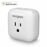 Koogeek Smart Plug, WiFi Socket Outlet for Apple HomeKit with Sir