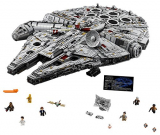 LEGO Star Wars Ultimate Millennium Falcon 75192 Building Kit (7541 Piezas)