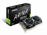 MSI GeForce GTX 1070 ARMOR 8GB OC GDDR5 SLI DirectX 12 VR Ready Video Graphic