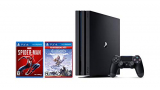 PlayStation 4 Pro 1TB Console – Marvel's Spider-Man + Horizon Zero Dawn Complete Edition Hits Bundle