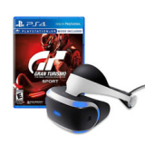 PlayStation VR Headset + Gran Turismo Sport