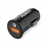 Aukey Quick Charge 2.0 18W USB Car Charger + Micro USB Cable
