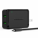 Tronsmart 4.8A Dual USB Wall Charger Quick Charge 2.0