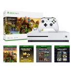 Xbox One S 1TB – Minecraft Creators Bundle
