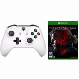 xBox One S White Wireless Controller +Metal Gear Solid V: Phantom Pain Bundle