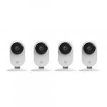 YI 4pc Home Camera, Wireless IP Security Surveillance System with Night Version (US Edition)