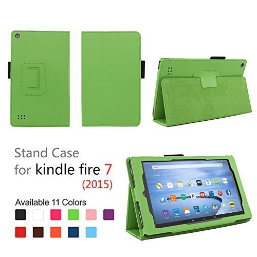 Case For Fire 7 2015 Folio Case With Stand For Kindle Fire
