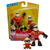 DISNEY Pack de Figuras Junior Supers de Mr. Increible & Jack-Jack