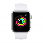 Reloj APPLE WATCH S3 GPS 38M Deportivo Plateado/Blanco