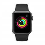 Reloj APPLE WATCH S3 GPS 38M Gris Espacial – Negro