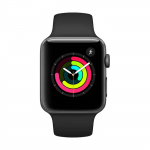 Reloj APPLE WATCH S3 GPS 42M Gris Espacial – Negro