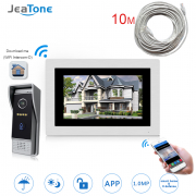 IP Door Phone Video Intercom Wireless Access Control System Touch Screen Motion Detect