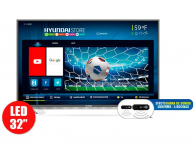TV 32″ 80cm HYUNDAI 3237 HD Internet