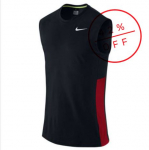NIKE camiseta crossover Sleeveless