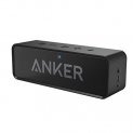 Anker SoundCore Bluetooth Speaker with 24-Hour Playtime, 66-Foot Bluetooth Range & Built-in Mic, Dual-Driver Portable Wireless Speaker with Low Harmonic Distortion and Superior Sound – Black