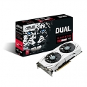ASUS Dual-Fan Radeon Rx 480 4GB OC Edition AMD Gaming Graphics Card with DP 1.4 HDMI 2.0