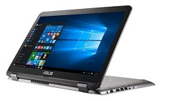"Asus VivoBook Flip Convertible 15.6"" Touchscreen Laptop, Intel Core i3-6100U 2.3GHz, 4GB DDR4, 128GB SSD"