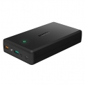 AUKEY 30000mAh Portable Charger with Quick Charge 3.0 & Lightning Input, 2 Outputs and Inputs