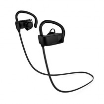 AUKEY Bluetooth Headphones, Wireless Semi In-Ear Earbuds with Built-in Microphone